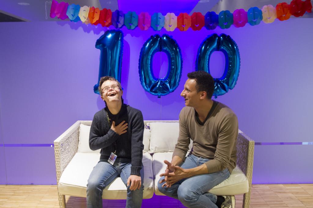L'entrevista 100!