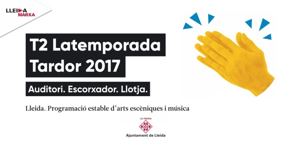 T2 Temporada d'arts escèniques i música tardor 2017