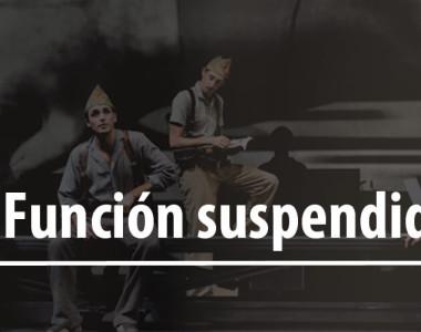 """Función """"In memoriam (la Quinta del Biberó) suspendida"""