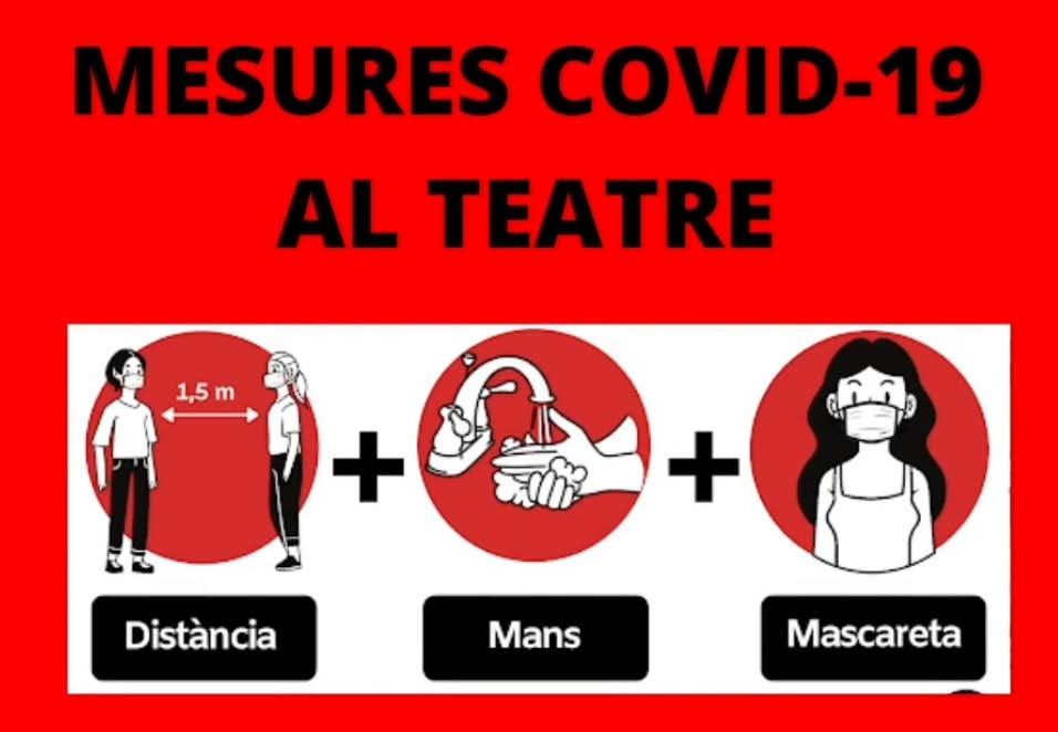 Al Teatre de la Llotja, #culturasegura
